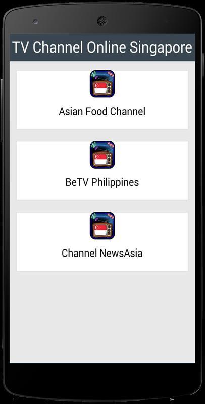 83+ Singaporean Television Free Singaporean Apk - TV Sat