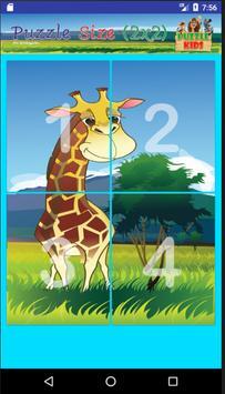 ปริศนาภาพสัตว์ สำหรับเด็ก screenshot 4