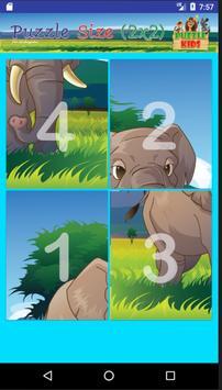 ปริศนาภาพสัตว์ สำหรับเด็ก screenshot 11