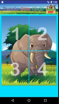 ปริศนาภาพสัตว์ สำหรับเด็ก screenshot 12