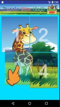 ปริศนาภาพสัตว์ สำหรับเด็ก screenshot 3