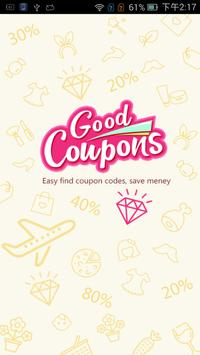 Coupons,Promo Codes & Deals poster