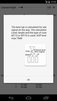 Coax Calculator apk screenshot