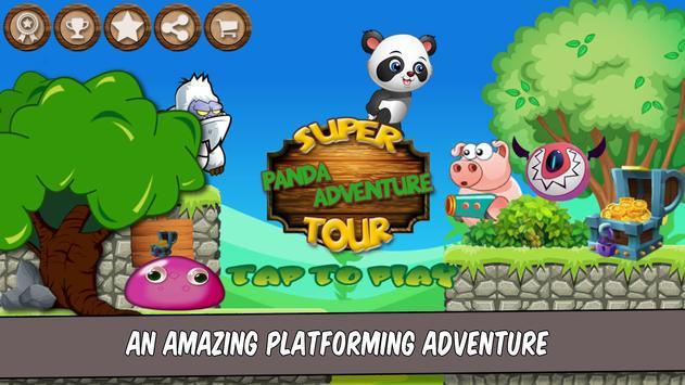 Super Panda Adventure Tour poster
