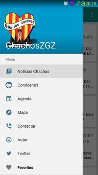 Los Chachos Zaragoza poster