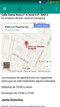 Los Chachos Zaragoza apk screenshot