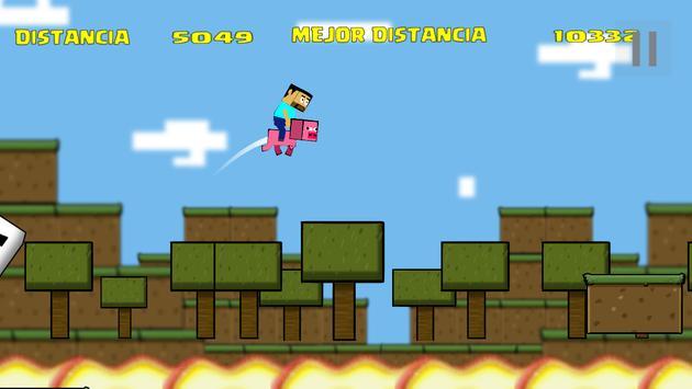 POUCRAFT Infinite Jump screenshot 1