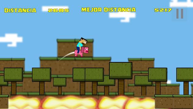 POUCRAFT Infinite Jump screenshot 2