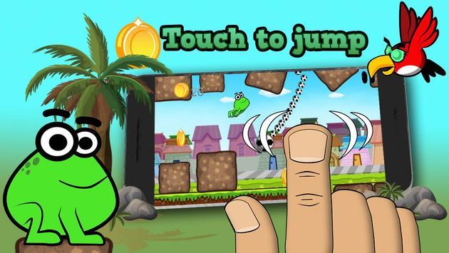 Tap Frog Adventure apk screenshot
