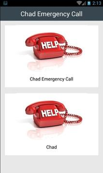 Chad Emergency Call poster
