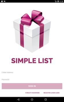 Simple List screenshot 5