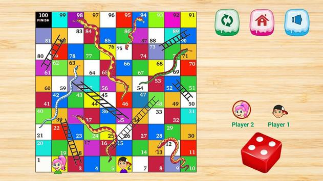 Fun Snake Ladders screenshot 17