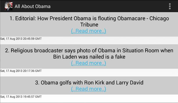 All About Obama apk screenshot