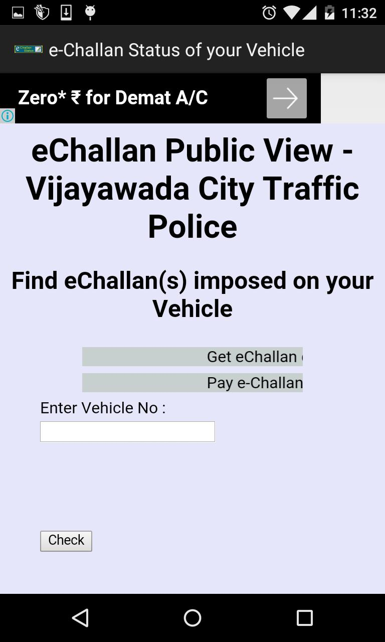 Traffic Police e-Challan for Android - APK Download