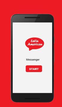 Latin America Messenger & Chat poster