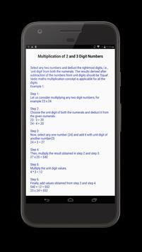 Vedic Maths Tricks screenshot 1