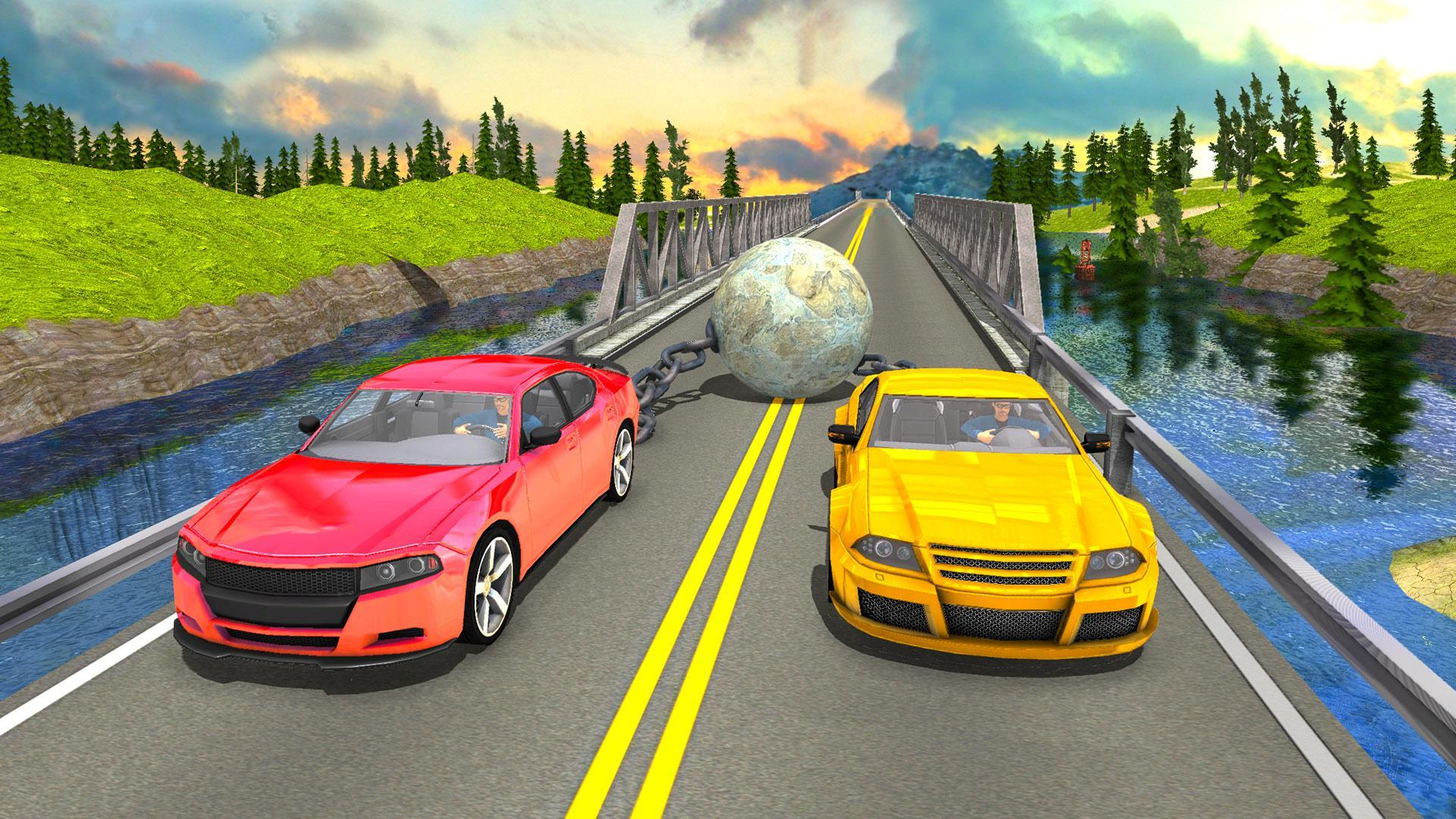 Chained Car Racing Free Driving Simulator 3d For Android Apk