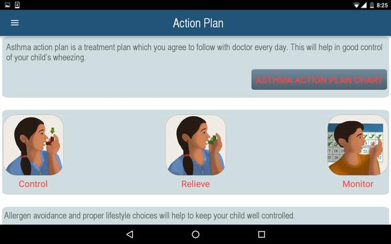7 keys to manage Child Asthma. screenshot 9