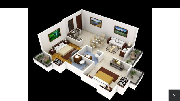 3d house plans apk screenshot - House Plans In 3d For Free