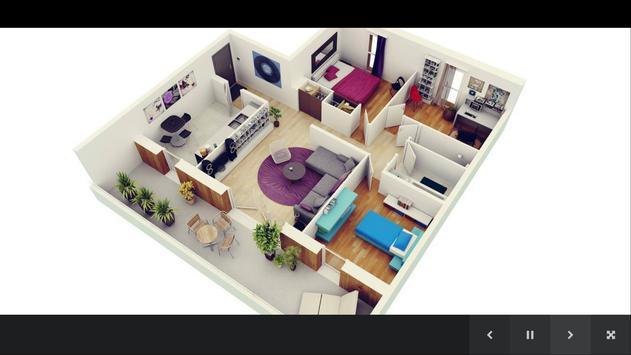 3D House Plans poster