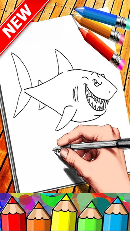 How To Draw Fish Easy For Android Apk Download