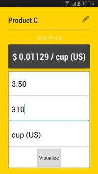 Rainbow Unit Price Compare apk screenshot