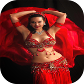 Belly dance step by step icon