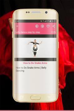 Belly dance step by step screenshot 5