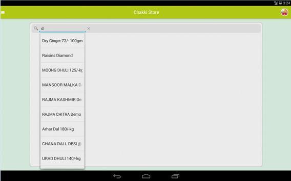 Chakki Store apk screenshot