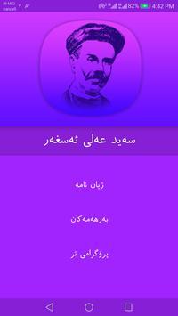 Said Ali asgar poster