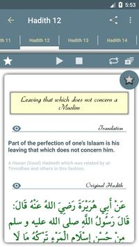 40 hadiths (An-Nawawi) apk screenshot