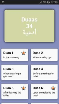 30 Duaas (Invocations) apk screenshot