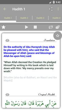 Islam: 40 Hadiths Qudsi apk screenshot