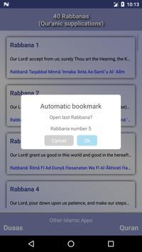 40 Rabbanas (duaas of Quran) screenshot 1