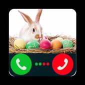 Fake Call Easter Bunny icon