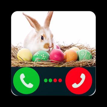 Fake Call Easter Bunny apk screenshot