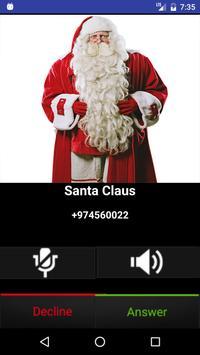 Fake Call Santa Claus Joke poster