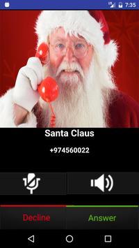 Fake Call Santa Claus Joke apk screenshot