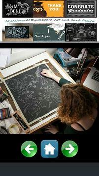 Blackboard Art and Card Design apk screenshot