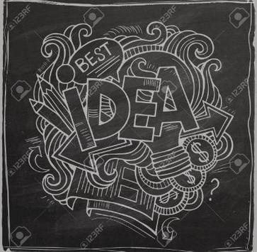 chalkboard lettering ideas apk screenshot