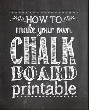 chalkboard lettering ideas apk screenshot