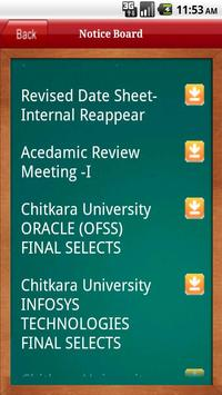 Chitkara Univ(Pb.Campus) apk screenshot
