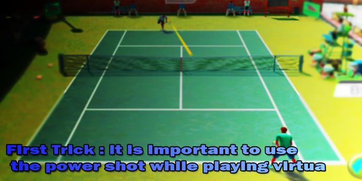 Guide for Virtua Tennis Challenge screenshot 1