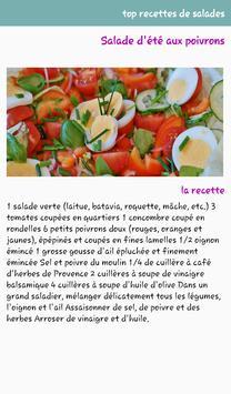 Top Recettes De Salade screenshot 2