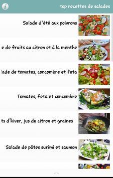 Top Recettes De Salade screenshot 4