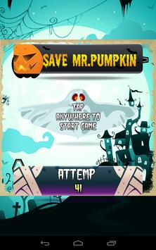 Save Mr.Pumpkin Halloween Test apk screenshot