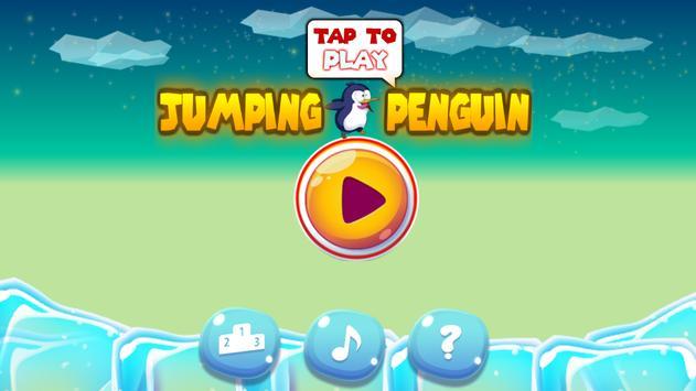 Jumping Penguin poster
