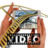 Convert photos to video icon
