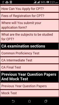 Crack CA exam 2016 screenshot 1