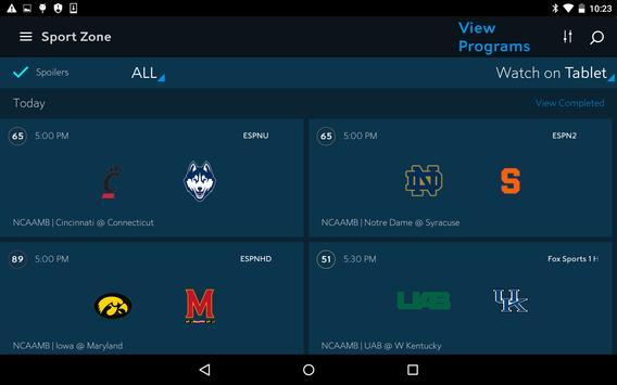 with spectrum tv downloader app